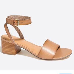 J Crew Block-heel sandals